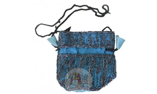 Simple Potli Bags - Blue
