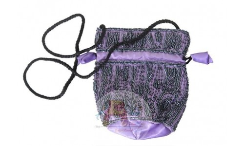 Simple Potli Bags - Purple