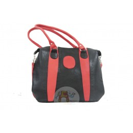 Black Red handbag