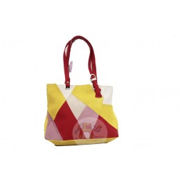 Contrast Multi Colored handbag