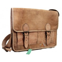 Raw Leather Sling Bag