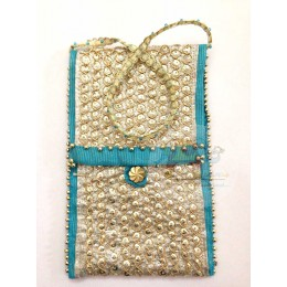 Golden Silver Blue Mobile Cover