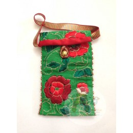 Green Flower Mobile Cover