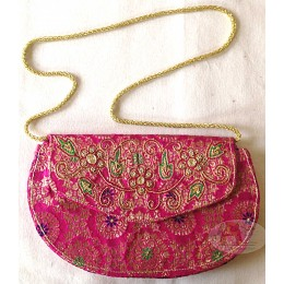 Pink Purse with sling
