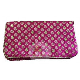 Golden Border Pink handbag