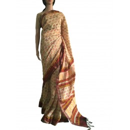 Animal Printed Maheshwari