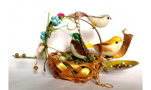 Bird Tree Basket