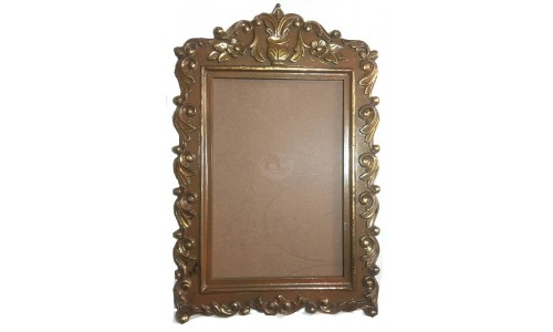 Large Golden Border Frame