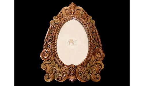 Large Golden Mirror/Frame (Teak)